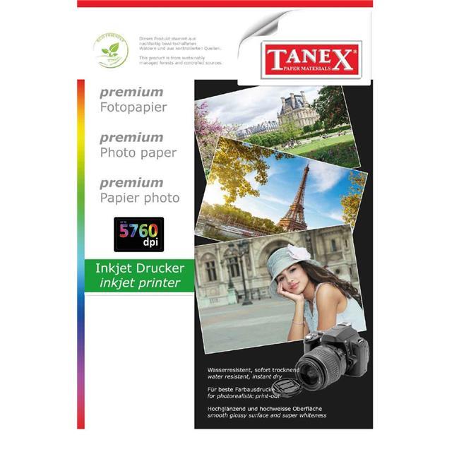 TANEX FOTOĞRAF KAĞIDI A4 200 GR 25 Lİ HC200G-25