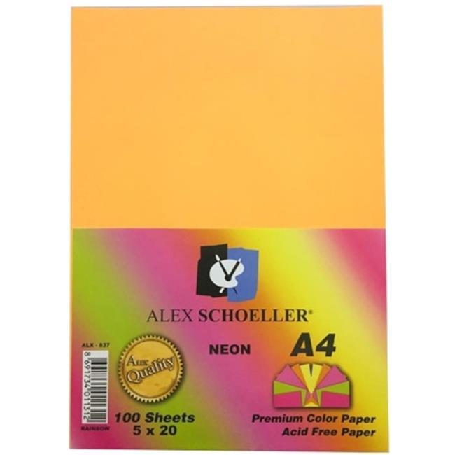 ALEX FOTOKOPİ KAĞIDI A4 FOSF. KRŞ 100LÜ ALX-837