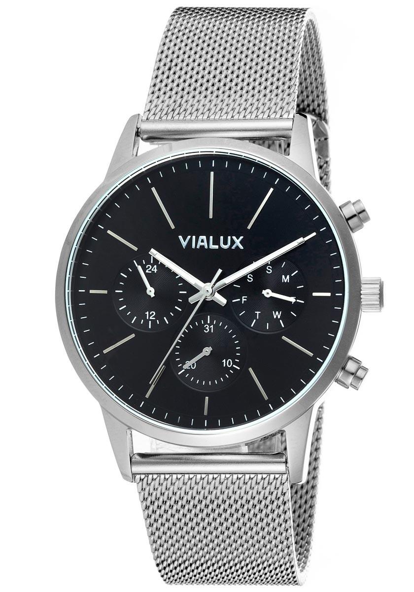 Vialux VX524S-04SS Erkek Kol Saati