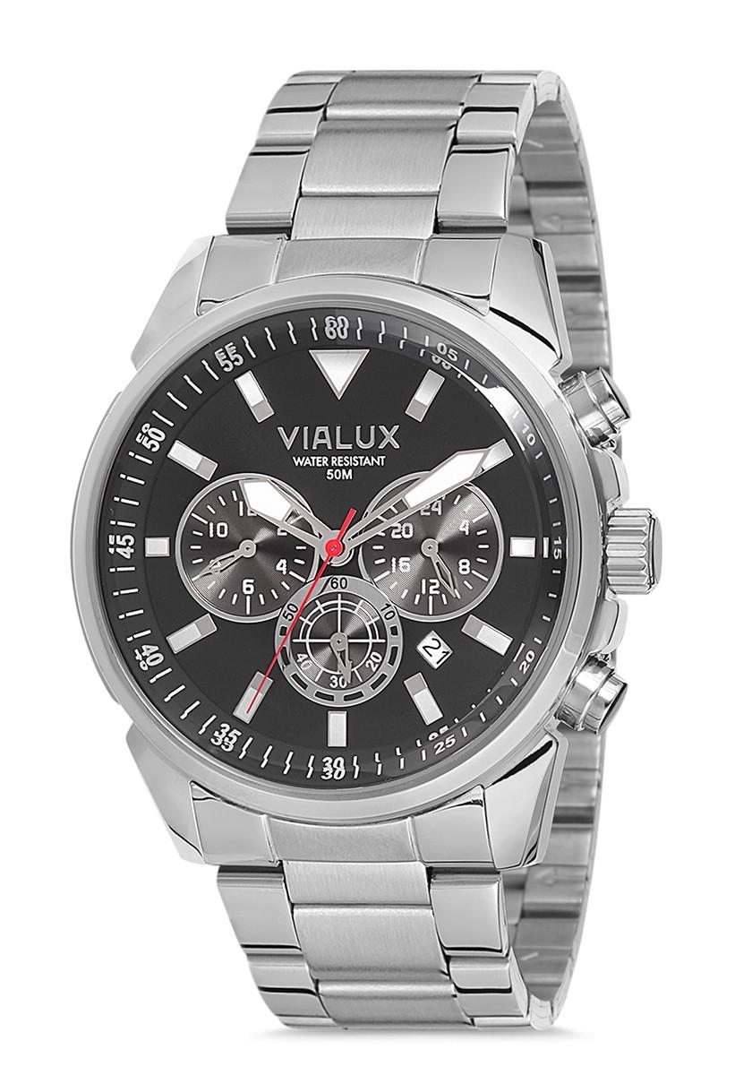 Vialux VX563S-04SS Erkek Kol Saati