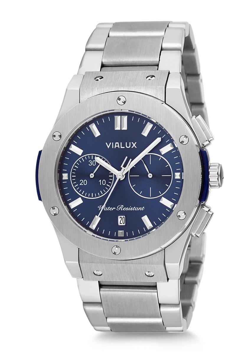Vialux VX747S-11SS Vialux Erkek Kol Saati