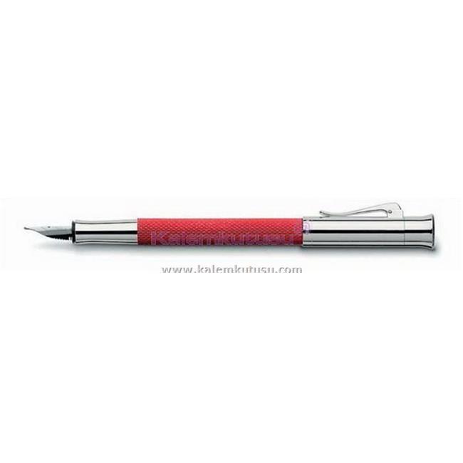 Graf von Faber-Castell Guilloche Desen Mercan Kırmızı Dolmakalem 146570  %30 İndirimli Fiyatlarla