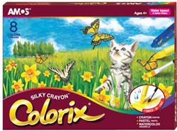 Amos Colorix Üçü Birarada Boya 8'li Crx5p8