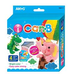 Amos Ican-b Beyaz + Kirmizi + Sari + Mavi Icb4p1