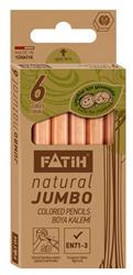 Fatih Kuruboya 6 Renk 1/2 Boy Jumbo Natural 33550