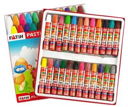 Fatih Pastel Boya 24 Renk King Size Kutulu 50340