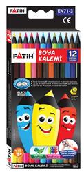 Fatih Kuruboya 12 Renk Tam Boy Black Wood 33412
