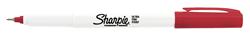 Sharpie Permanent Ultra Fine İnce Uç Kirmizi 37002