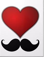 MORNİNG G. DEFTER A4 I LOVE MUSTACHE PP 1817
