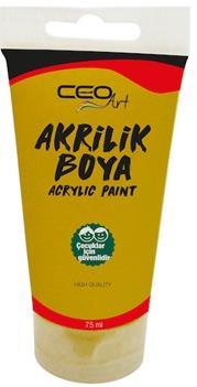 CEOART AKRİLİK BOYA 75 ML. GOLD-ALTIN CEO-AB0018