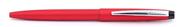 Scrikss F108<br>Mat Alüminyum Tükenmez kalem - Buz Kırmızı