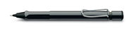 LAMY SAFARI PARLAK SİYAH/KROM 0.5mm MEKANİK KURŞUN KALEM