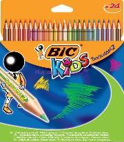 Bic Kuruboya Tropicolor2 Uzun 24 Lü 832568