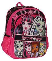 Hakan Çanta Okul Monster High 86169