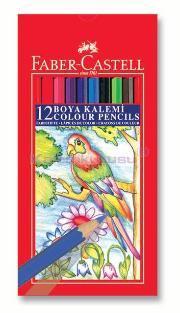 Faber Kuruboya Red Line 12 Renk Tb 116312
