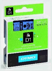 Dymo Şerit D1 9mmx7mt Mavi/siyah 720710 40916