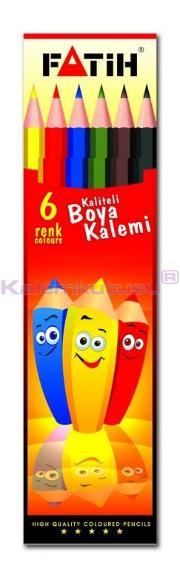 Fatih Kuruboya 6 Renk Tam Boy 33106