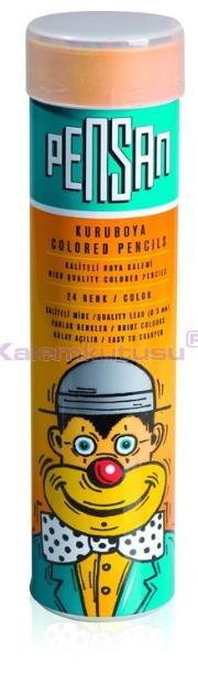 Pensan Kuruboya 24 Renk Tam Boy Tüp 33224/p