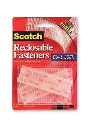 Scotch Kilit Bant Dual Lock Şeffaf 2 Çift Rf 9730