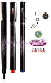 Uni Drawing Pen Pin01-200 0.1 Siyah