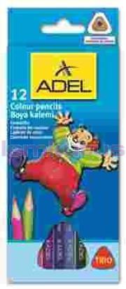Adel Kuruboya 3315 12 Renk Tam Boy Jumbo 315007