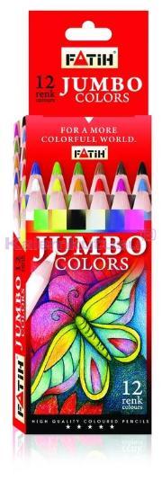 Fatih Kuruboya 12 Renk Tam Boy Jumbo 33340