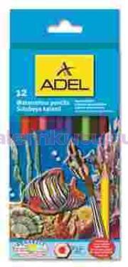 Adel Kuruboya Aquarell 12 Renk Tam Boy 2610 610000