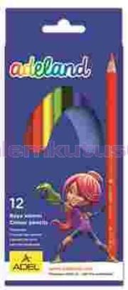 Adeland Kuruboya 12 Renk Tam Boy 315100