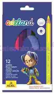 Adeland Kuruboya Jumbo 12 Renk Tam Boy 9510 510100
