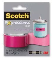 Scotch Bant Renkli 19mmx7,62m Pembe C214-pnk