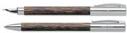 Faber-Castell Ambition Hindistan Cevizi Ağacı Dolmakalem + Tükenmezkalem - cocos
