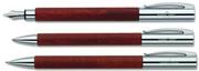 Faber-Castell Ambition Armut Ağacı Dolmakalem + Tükenmezkalem + M.Kurşunkalem - pearwood