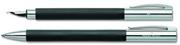 Faber-Castell Ambition Mat Siyah Dolmakalem + Tükenmezkalem - matte black