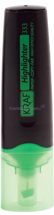 Kraf Fosforlu Kalem 333 Yeşil
