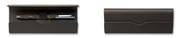 Faber-Castell 1.Sınıf Dana Derisi Katlamalı Kapak Tekli Kalemlik  - Koyu Kahve