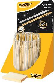 Bic Tükenmez Kalem Cristal Altın/gümüş gövde 40lı 9213381