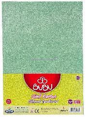 Bu-bu Fon Kartonu 50x70 Simli A.yeşil 10 Lu Fk0006
