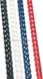 Sarff Plastik Spiral 6mm Mavi 100 Lü 15312007
