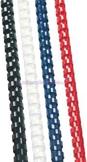 Sarff Plastik Spiral 8mm Kirmizi 100 Lü 15312014