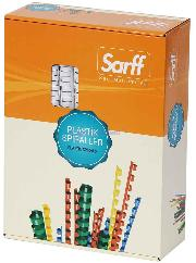 Sarff Plastik Spiral 12mm Siyah 100 Lü 15312024