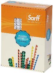 Sarff Plastik Spiral 12mm Kirmizi 100 Lü 15312026