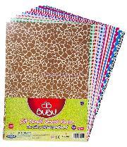 Bu-bu Fon Kartonu Çift Tarafli Desenli Bubu-fk0002