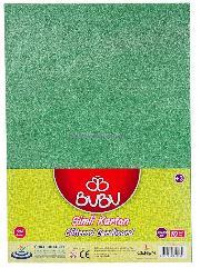 Bu-bu Fon Kartonu Yeşil Bubu-fk0007
