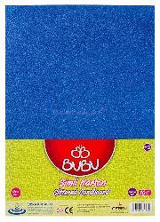Bu-bu Fon Kartonu Mavi Bubu-fk0009