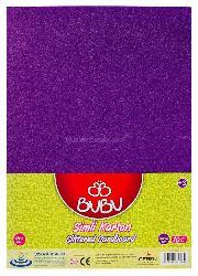 Bu-bu Fon Kartonu Mor Bubu-fk0010