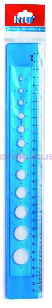 Rio Şablon Daire 1-20mm 802
