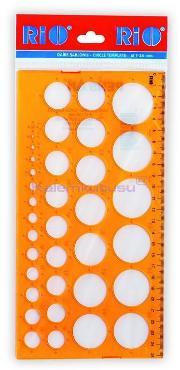Rio Şablon Daire 1-36mm 801