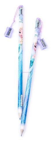 Dolphin Kurşun Kalem+Kalemtraş Frozen Jumbo Fr3181
