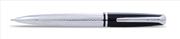 SCRIKSS 477 BAKLAVA DESEN PARLAK KROM/SİYAH 0.7mm MEKANİK KURŞUNKALEM