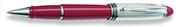 AURORA IPSILON Silver 925 Som Gümüş/Kırmızı Reçine Rollerkalem